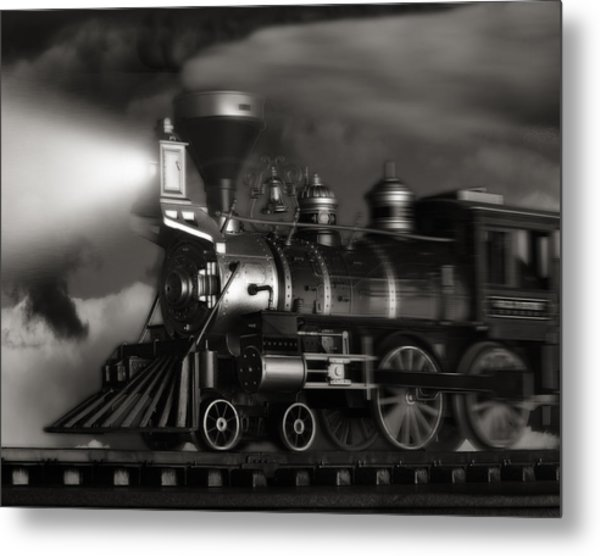 Midnight Flyer Metal Print