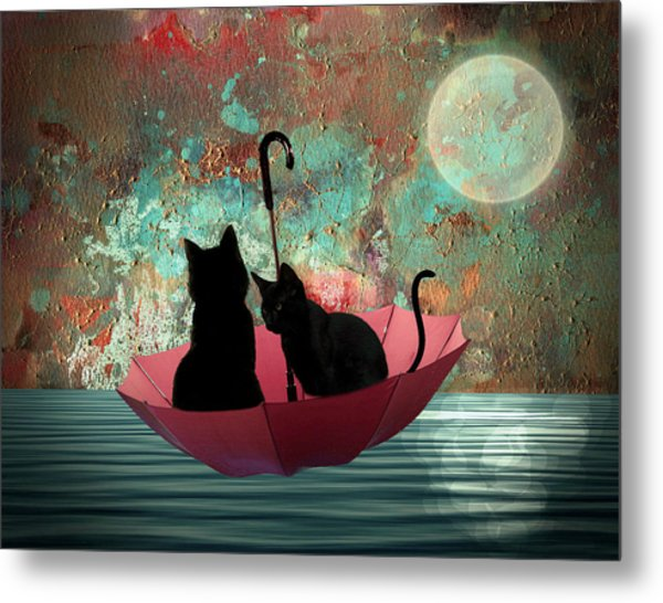 Midnight Love 2 Metal Print