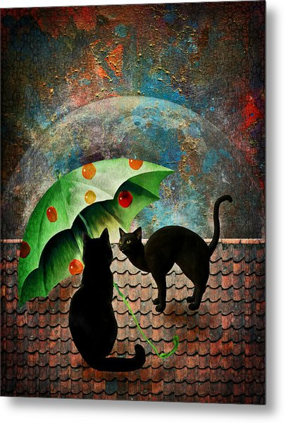 Midnight Love 3 Metal Print
