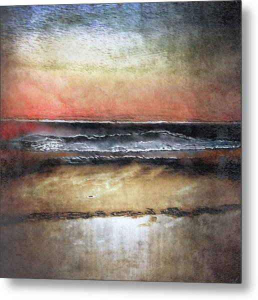 Midnight Sands Gloucester Metal Print
