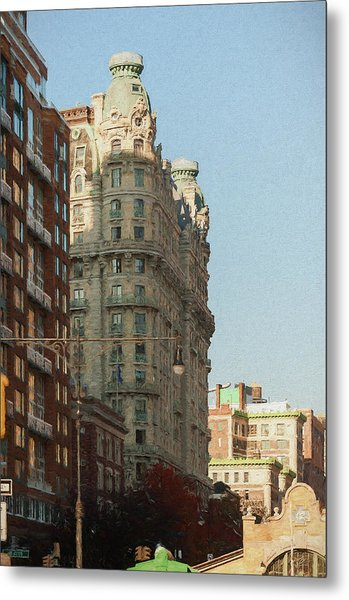 Midtown Manhattan Apartments Metal Print