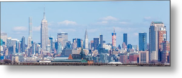 Midtown Manhattan Skyline Metal Print by Erin Cadigan