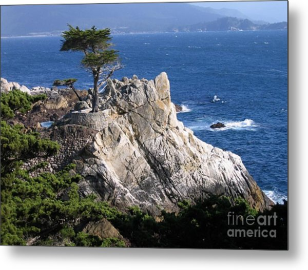 Midway Point Metal Print