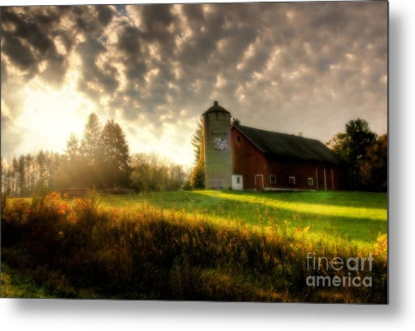 Midwest Morning Metal Print