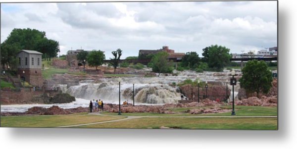 Mighty Sioux Falls Metal Print