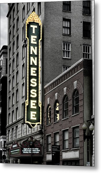 Mighty Tennessee Metal Print