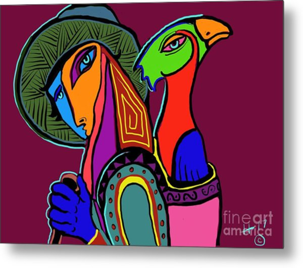 Migrating Bird Metal Print