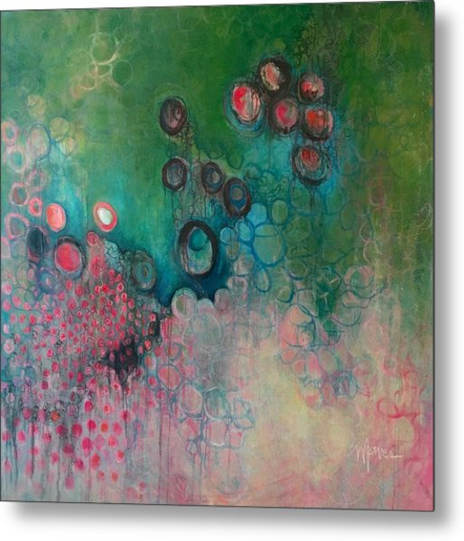 Metal Print featuring the painting Migration by Laurie Maves ART