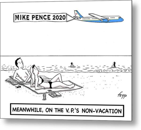 Mike Pence 2020 Metal Print