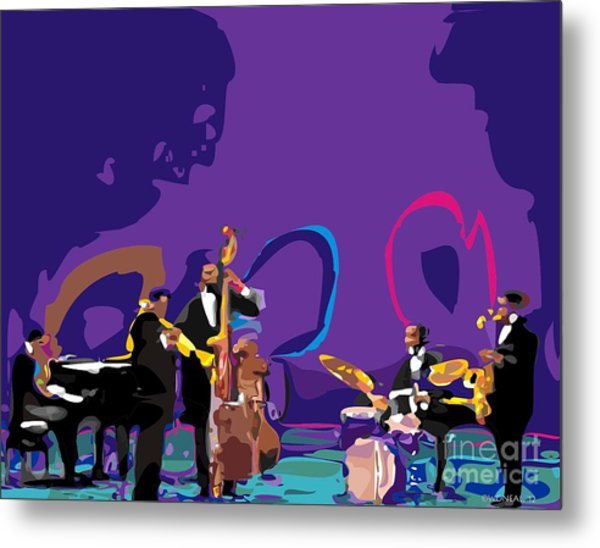 The Miles Davis Quintet Metal Print
