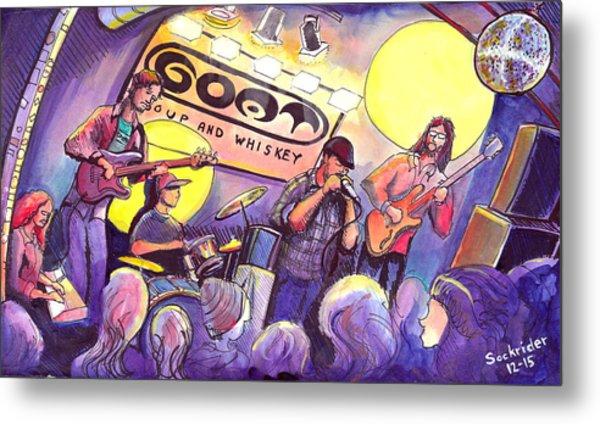 Miles Guzman Band Metal Print