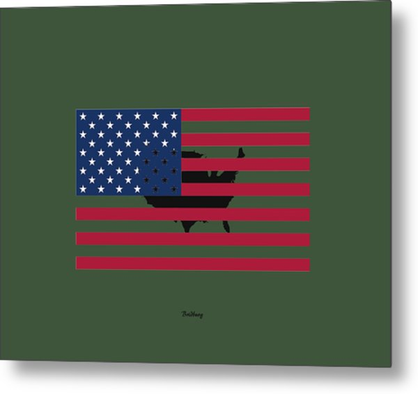 Military Man Metal Print