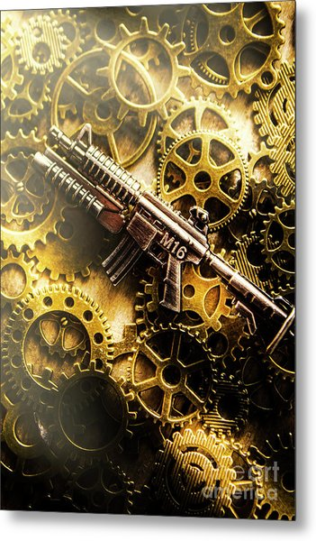 Military Mechanics Metal Print