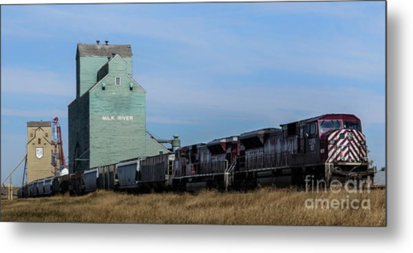Milk River Metal Print