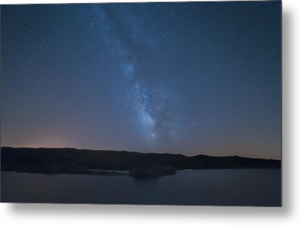Metal Print featuring the photograph Milky Lagoon by Bruno Rosa