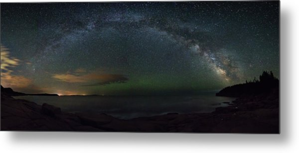 Milky Way Arch Metal Print