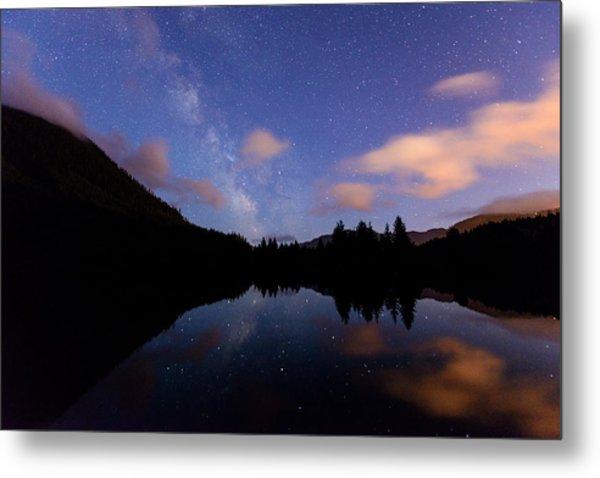 Milky Way At Snoqualmie Pass Metal Print