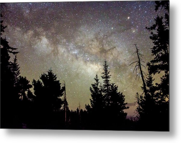 Milky Way From Mt. Graham Metal Print