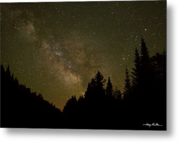 Milky Way In The Whites Metal Print