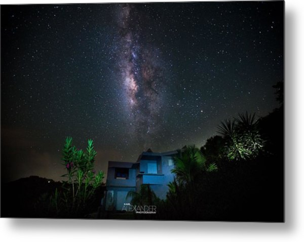 Milky Way Over Casa Angular  Metal Print by Karl Alexander