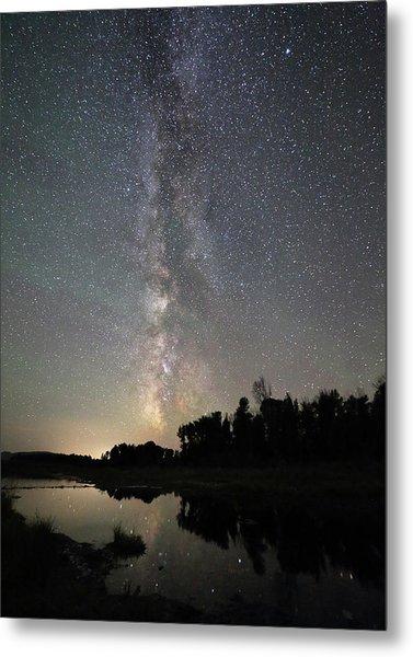 Milky Way Over Schwabacher's Landing Metal Print by Jean Clark