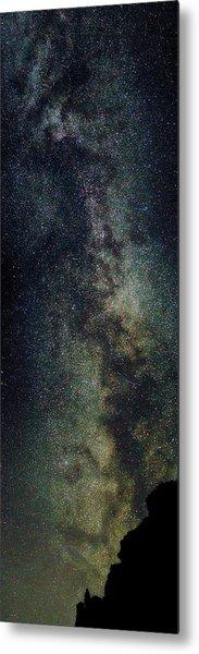 Milky Way Panoramic Metal Print
