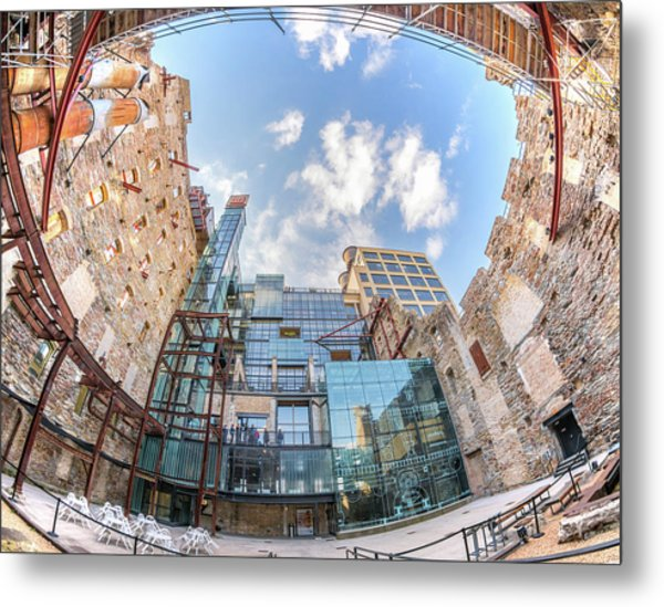 Mill City Museum Wide Angle View Metal Print