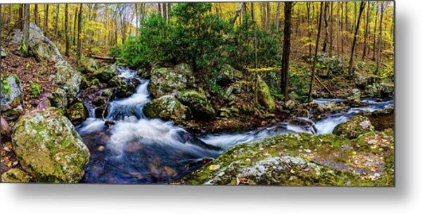 Mill Creek In Fall #4 Metal Print