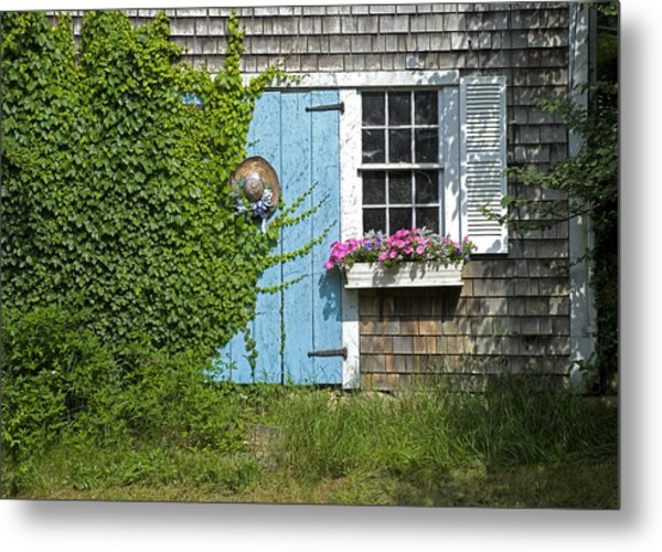 Millway Scene In Barnstable Metal Print