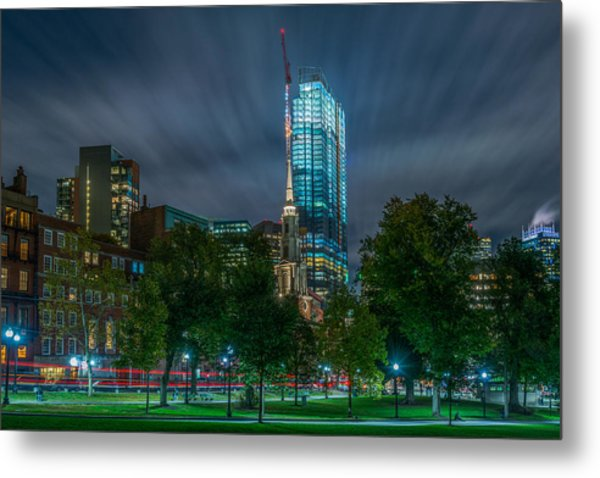 Millennium Construction Metal Print