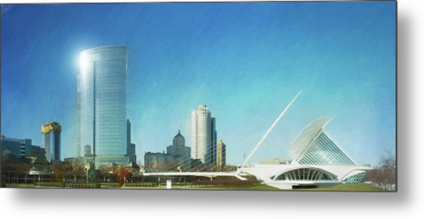 Milwaukee Art Museum Metal Print