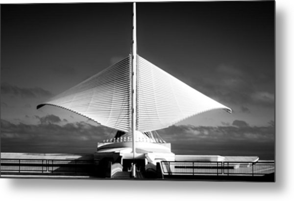 Milwaukee In Motion Metal Print
