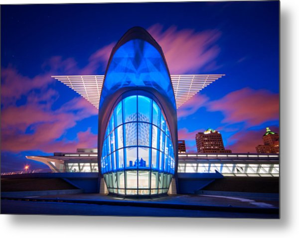 Milwaukee's Wings Metal Print