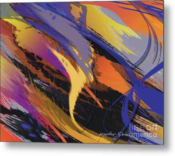 Mind Speed Metal Print