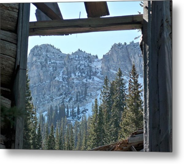 Miners Lost View Metal Print