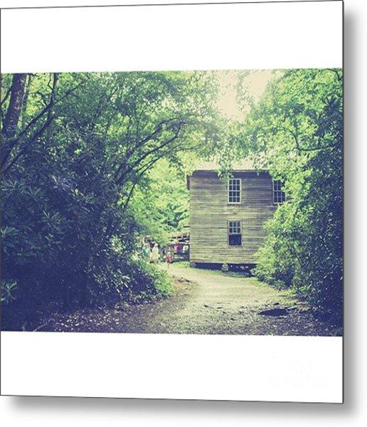 Mingus Mill Great Smoky Mountains Metal Print