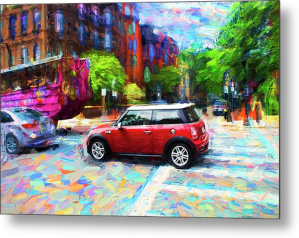 Mini Cooper Series 3 Metal Print