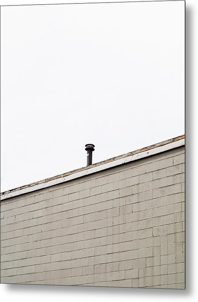 Minimalist Architecture Photography Metal Print by Dylan Murphy
