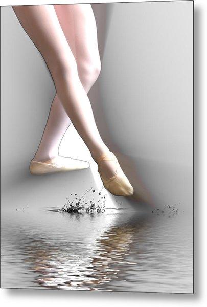 Minimalist Ballet Metal Print