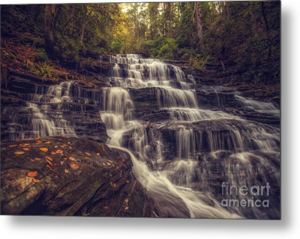 Minnehaha Fall 3 Metal Print