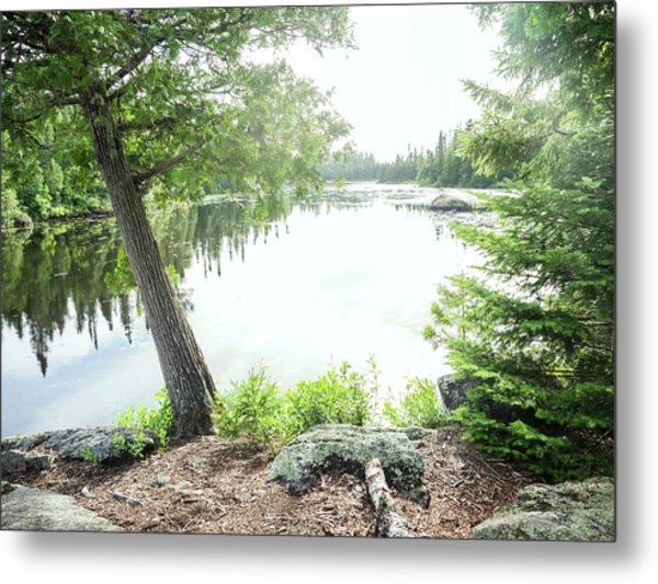 Metal Print featuring the photograph Minnesota Boundary Waters by Whitney Leigh Carlson