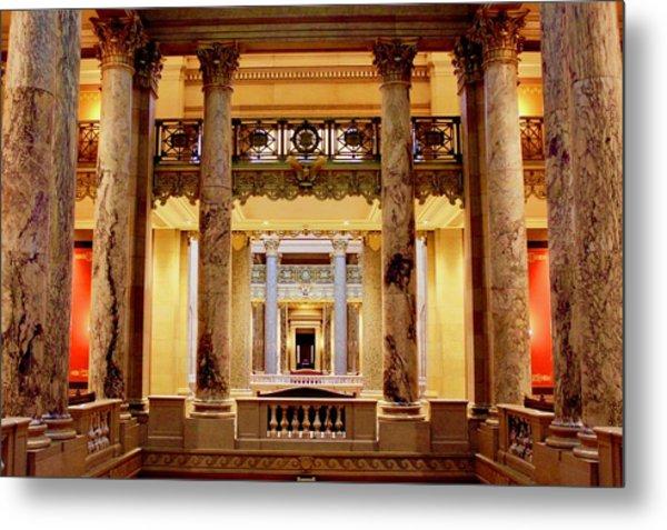 Minnesota Capitol Supreme Court Metal Print