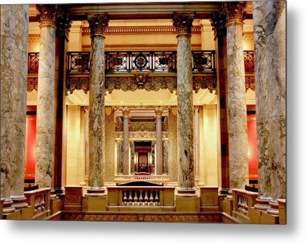Minnesota Capitol Senate Metal Print