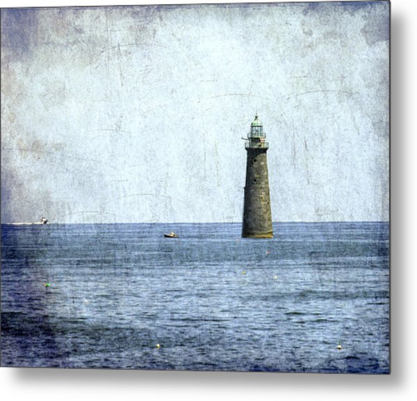 Minot Ledge Light Metal Print