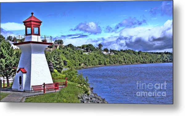 Miramichi Lighthouse Metal Print by Levin Rodriguez