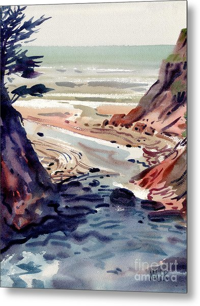 Miramonte Point Metal Print by Donald Maier