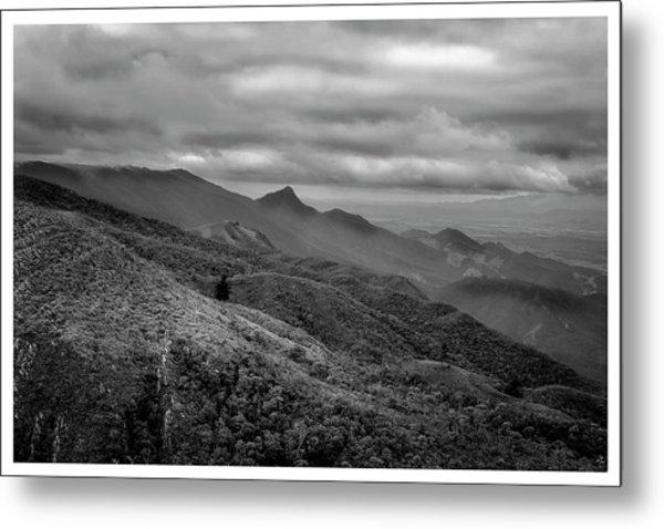 Mirante-pico Do Itapeva-campos Do Jordao-sp Metal Print