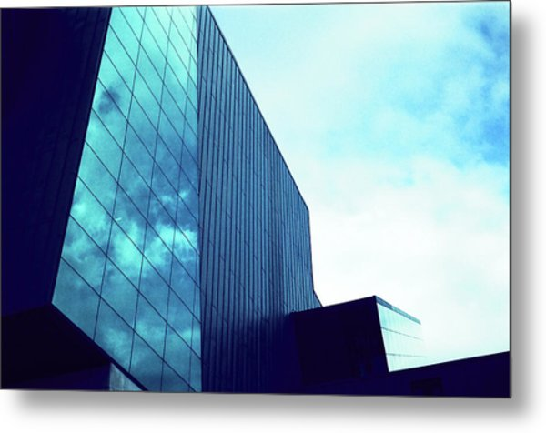 Mirror Building 1 Metal Print