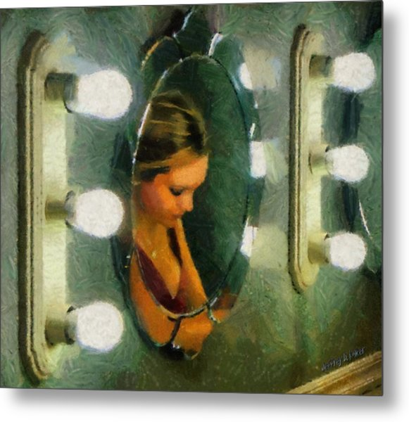 Mirror Mirror On The Wall Metal Print