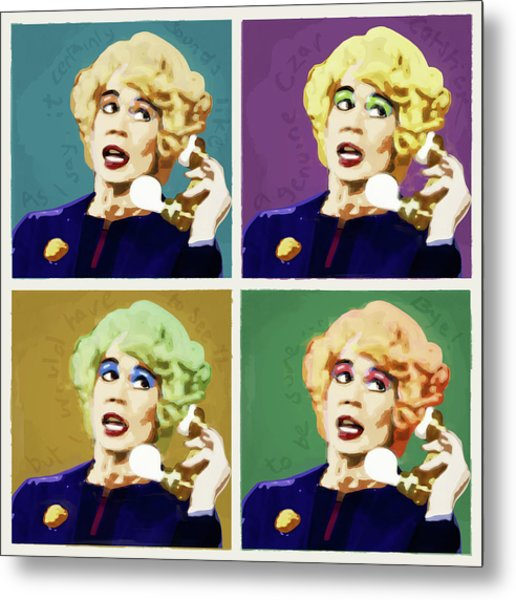 Miss Babs, Acorn Antiques Metal Print